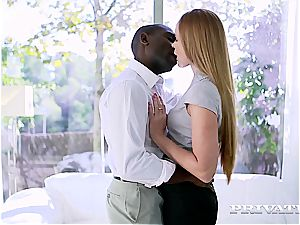 passionate minx Nika finds out the magick of the ample ebony mamba