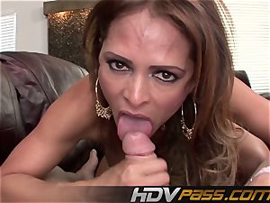 HDVPass Monique Fuentes needs to fellate and plumb