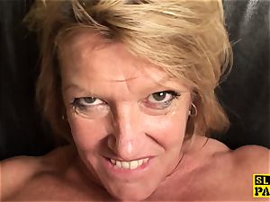 busty mature british subs before cuminmouth