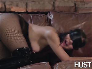 chinese Kendra Spade blinded and gonzo facial cumshot