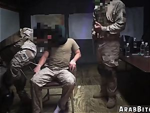 Arab milky girl ass fucking first-ever time Sneaking in the Base!